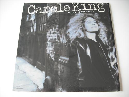 【LP】CAROLE KING / CITY STREETS