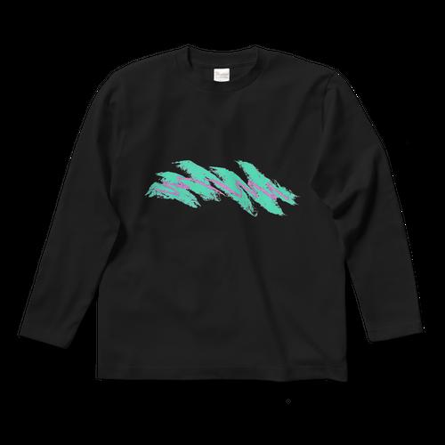●数量限定● 90's wave ロングTシャツ ブラック
