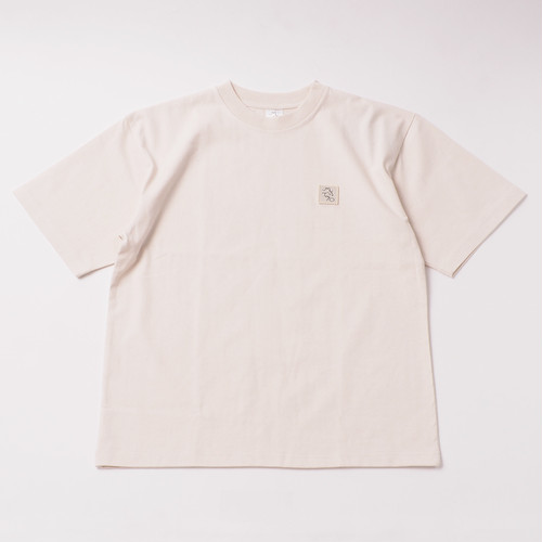 Emblem Tee designed by tomoo gokita / NATURAL
