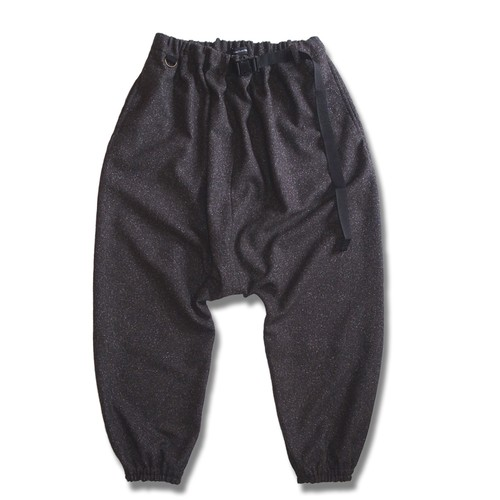 WCH Sarrouel Jogger Pant Nep Wool -Brown
