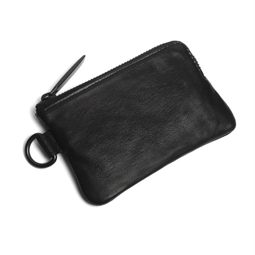 112AWA35 Leather coin case 'minimal' shine コインケース