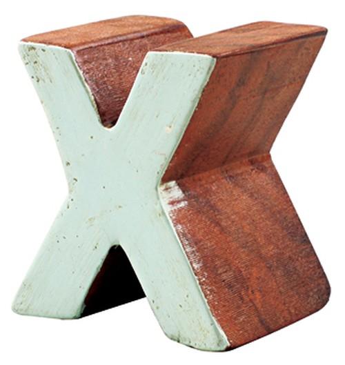 """アルファベットブロック """"X"""""""
