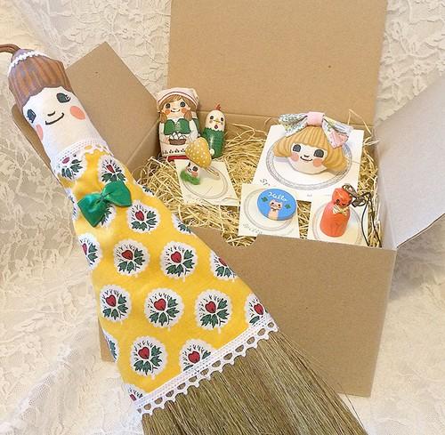 Happybox~女の子と鶏緑set