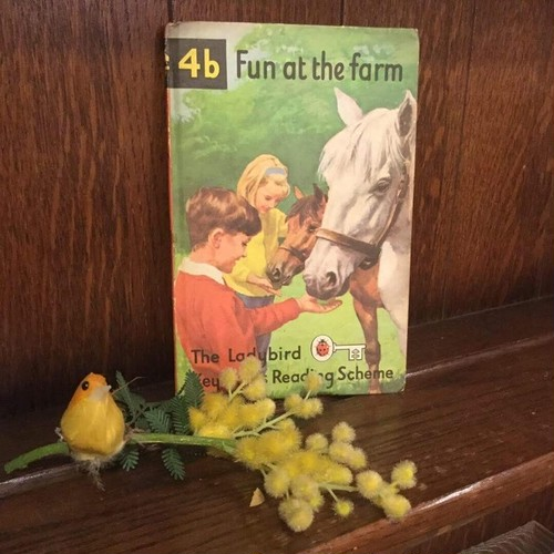 BOOK Ladybird Books 4b『Fun at the farm』