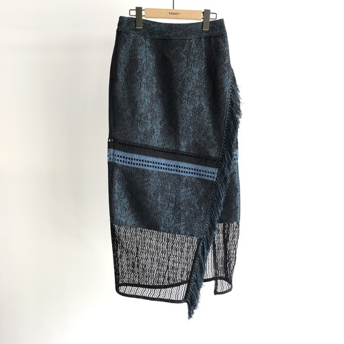 【20SS】EBONY エボニー  / Water Jacuard Tight Skirt