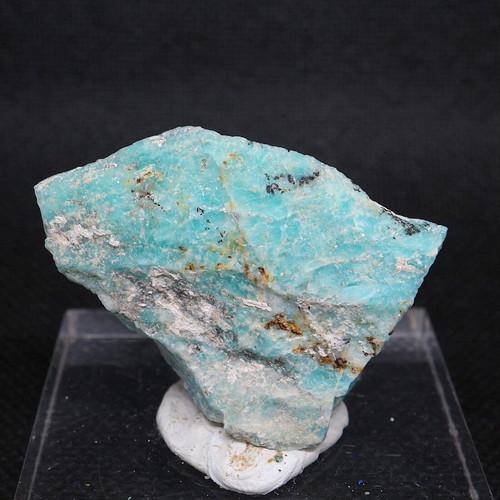 自主採掘!アマゾナイト カリフォルニア産 原石  20,8g AZ0073 天河石(てんがせき) 鉱物 天然石