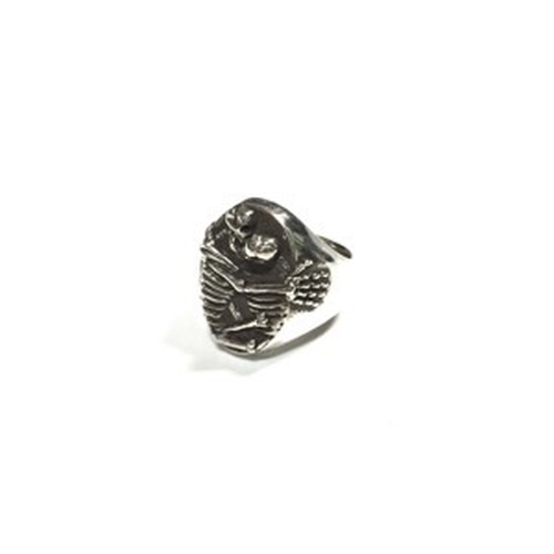 inoutdesign  /【KISSING SKELETONS】 SILVER RING