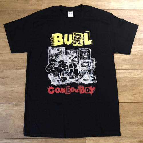 Come On Boy Tee(Black/Yellow/Red)