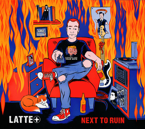 latte+ / next to ruin cd