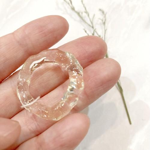 とろっと具合がたまらない♡樹脂ring(クリア)約14-15号