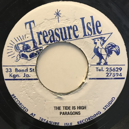 The Paragons(パラゴンズ) ‎- The Tide Is High【7-10808】