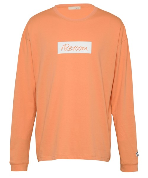 BOX LOGO PRINT COLOR BIG LONG SLEEVE[REC482]