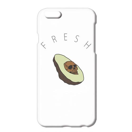 送料無料 [iPhone ケース] Creepy avocado