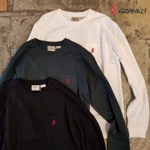 GRAMICCI グラミチ ONE POINT L/S TEE