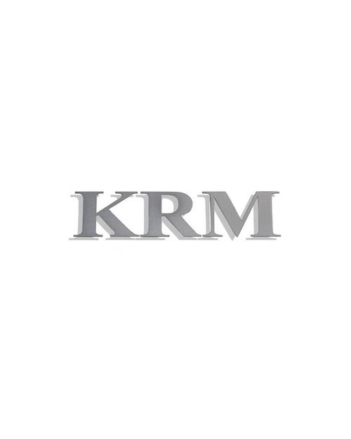 KRM logo sticker