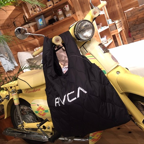 【RVCA】QUILTING SHOPPER