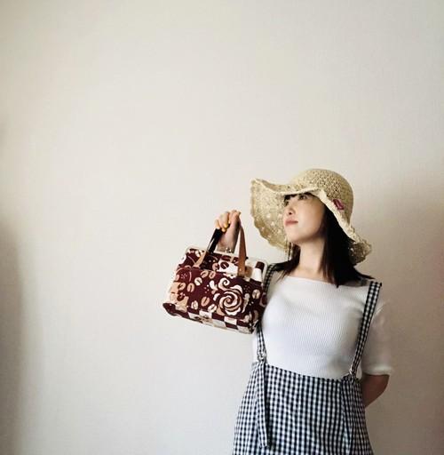 彩月☆ワンマイルトート(バラクリヰム珈琲:カフェラテ)/送料無料