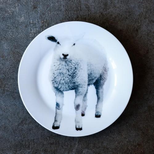 《michirico》動物たちの飾るお皿「仔羊」