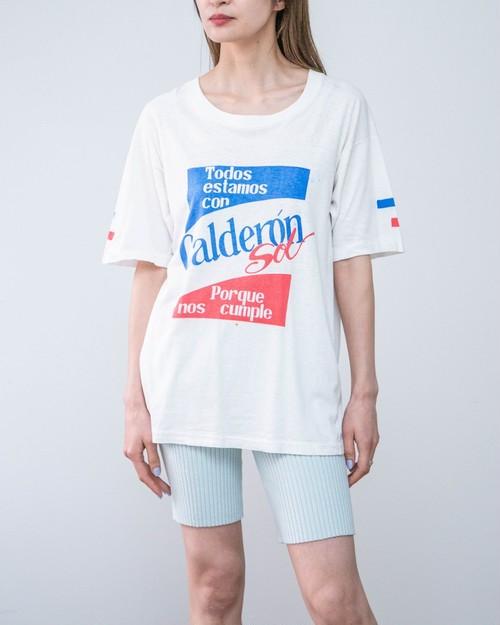 1980-90s print T-shirt