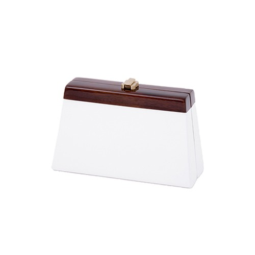 Cindy Clutch - brilliant white