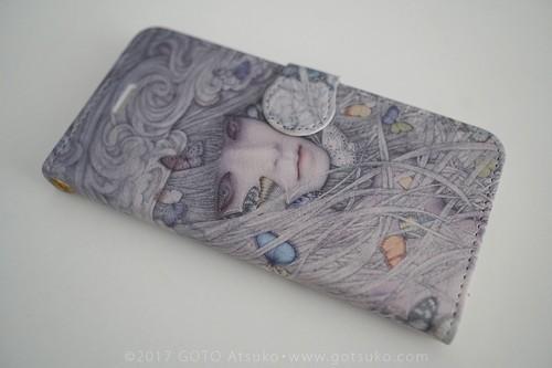 Smartphone case 美しい未来/Beautiful future for iPhone 7Plus/8Plus