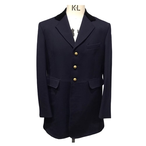 HARRY HALL Caldene competition jacket made in England Navy 40