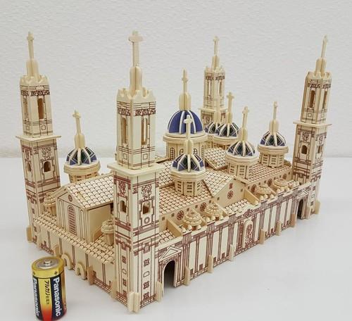 【送料無料】3D立体パズル ヌエストラ・セニョーラ・デル・ピラール聖堂
