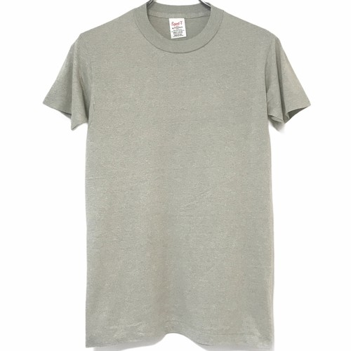 Dead Stock! 70's Sport-T by STEDMAN T-shirt made in USA Gray