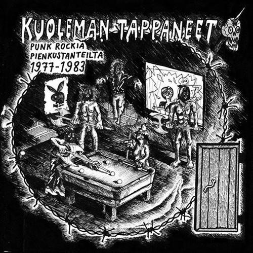 """VA - Kuoleman Tappaneet 12"""" + BOOKLET"""