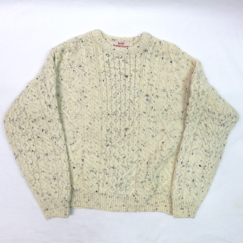 ARAN HAND KNIT SWEATER made in IRELAND アランセーター