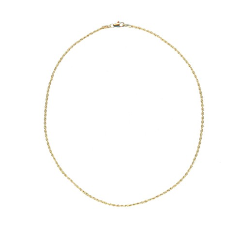 【GF1-6】18inch gold filled chain necklace
