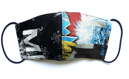 【COTEMER マスク 日本製】BAND × PRINT MASK 0423-137