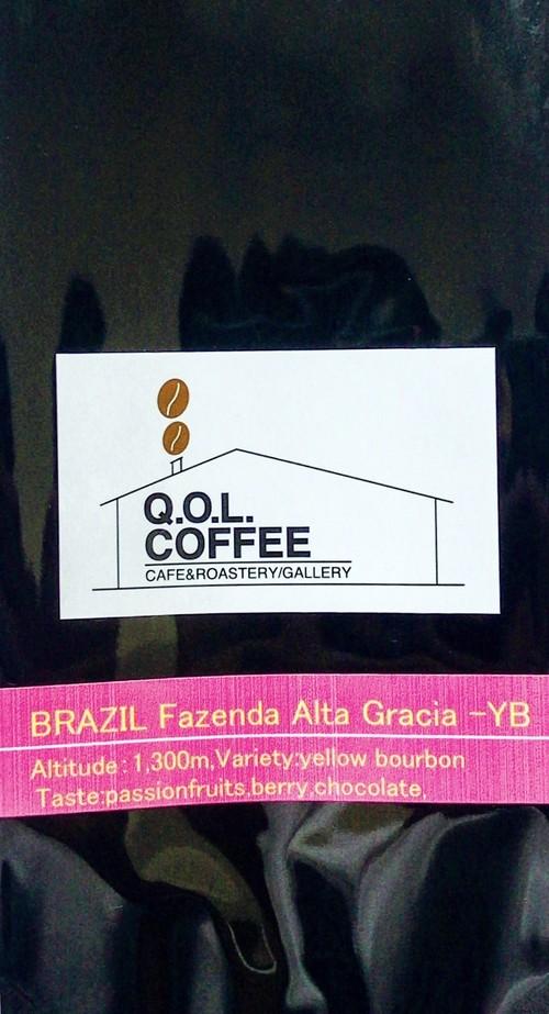BRAZIL Fazenda Alta Gracia-YB 100g