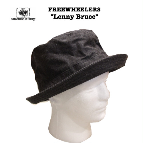 "FREEWHEELERS/フリーホイーラーズ SUBTERRANEANS  ""Lenny Bruce"" Lot 1827010 ハット"