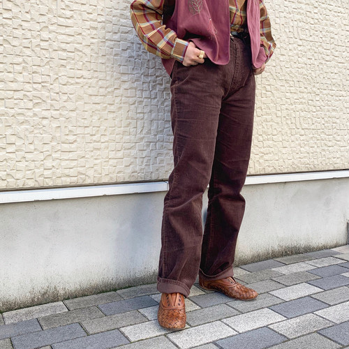 (LOOK) corduroy pants