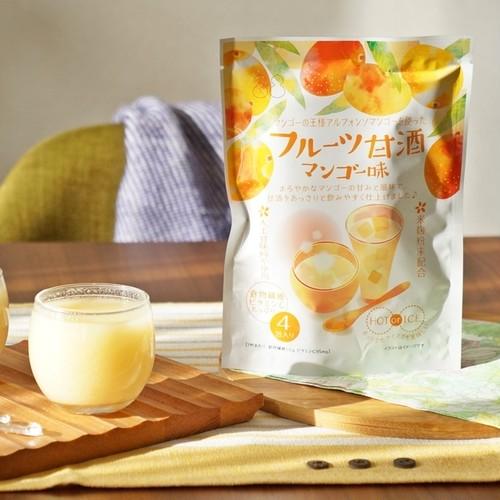 【フルーツ甘酒】マンゴー味4p【クリポス対応】