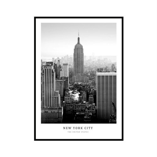 """NEW YORK CITY"" US - POSTER [SD-000591] A4サイズ ポスター単品"