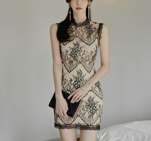 nudie lace dress