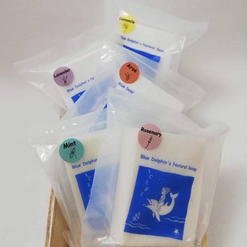 ☆5種セット☆ ハーブナチュラルソープ ~ Blue Dolphin's Natural Soap ~