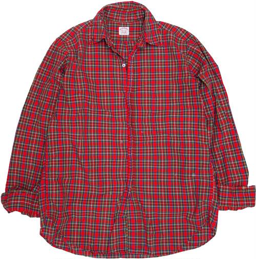 【XL】 80s ブルックス・ブラザーズ ポロカラーシャツ Brooks Brothers ヴィンテージ 古着