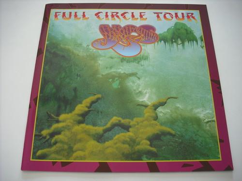 【パンフレット】YES / FULL CIRCLE TOUR