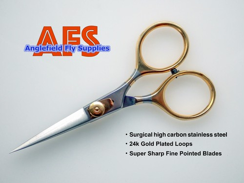 AFS  Fine Pointed Razor Blades Scissors 127-50