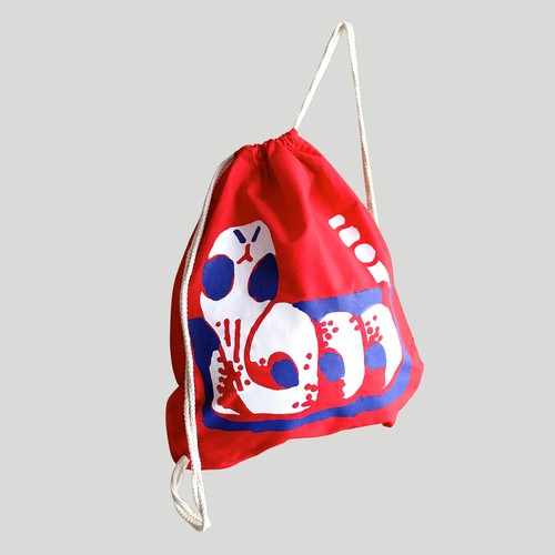 Quentin Chambry/SNAKE BAG (Red)