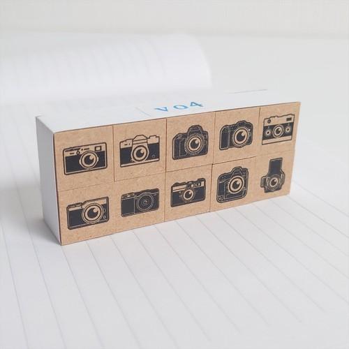 ちびカメラスタンプ 10個セット vol.4