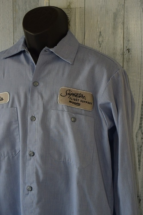 アメリカ輸入古着ワークシャツ CINTAS製☆アメカジ古着ファッション