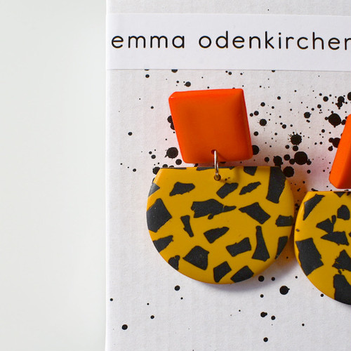 "Studio Emma Odenkirchen ""GIRAFFE EARRINGS "" ピアス"