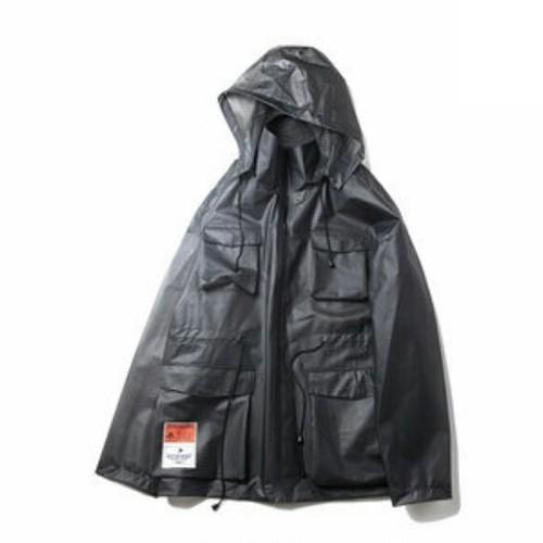 送料無料/ユニセックス/大きいサイズ/雨対応/ポケット豊富/アウター