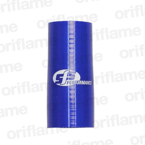 異径・ストレートホース・内径38 x 35mm・ブルー