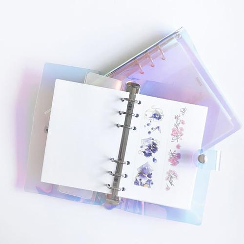 剥離紙ファイル手帳 A5サイズ