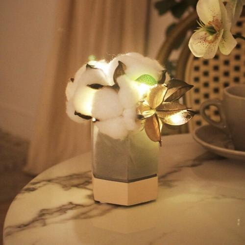 cutie cotton flower pot mood light / コットンフラワー ライト